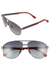 Hugo Boss BOSS 63mm Aviator Sunglasses