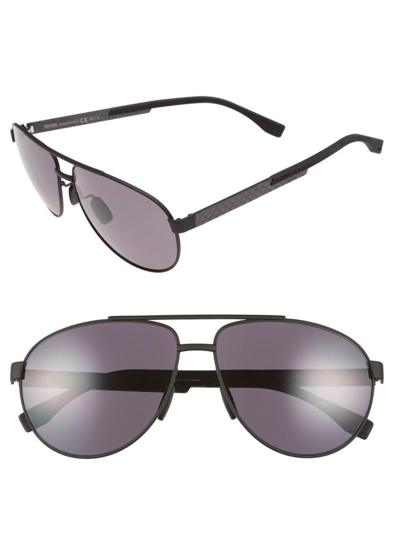 Hugo Boss BOSS 63mm Polarized Sunglasses