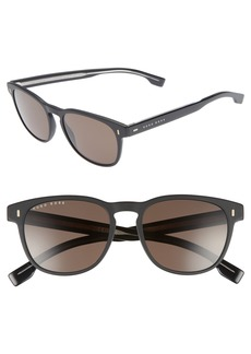 Hugo Boss BOSS B0926S 49mm Polarized Sunglasses