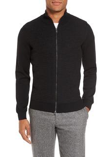 Hugo Boss BOSS Bacco Full Zip Wool Sweater Jacket