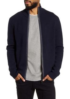 Hugo Boss BOSS Badolfo Zip Wool Blend Sweater