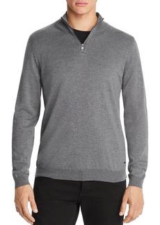 5a60e0eac Hugo Boss BOSS Banello Quarter-Zip Virgin Wool Sweater - 100% Exclusive