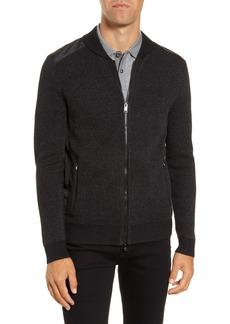 Hugo Boss BOSS Baraldo Regular Fit Zip Sweater