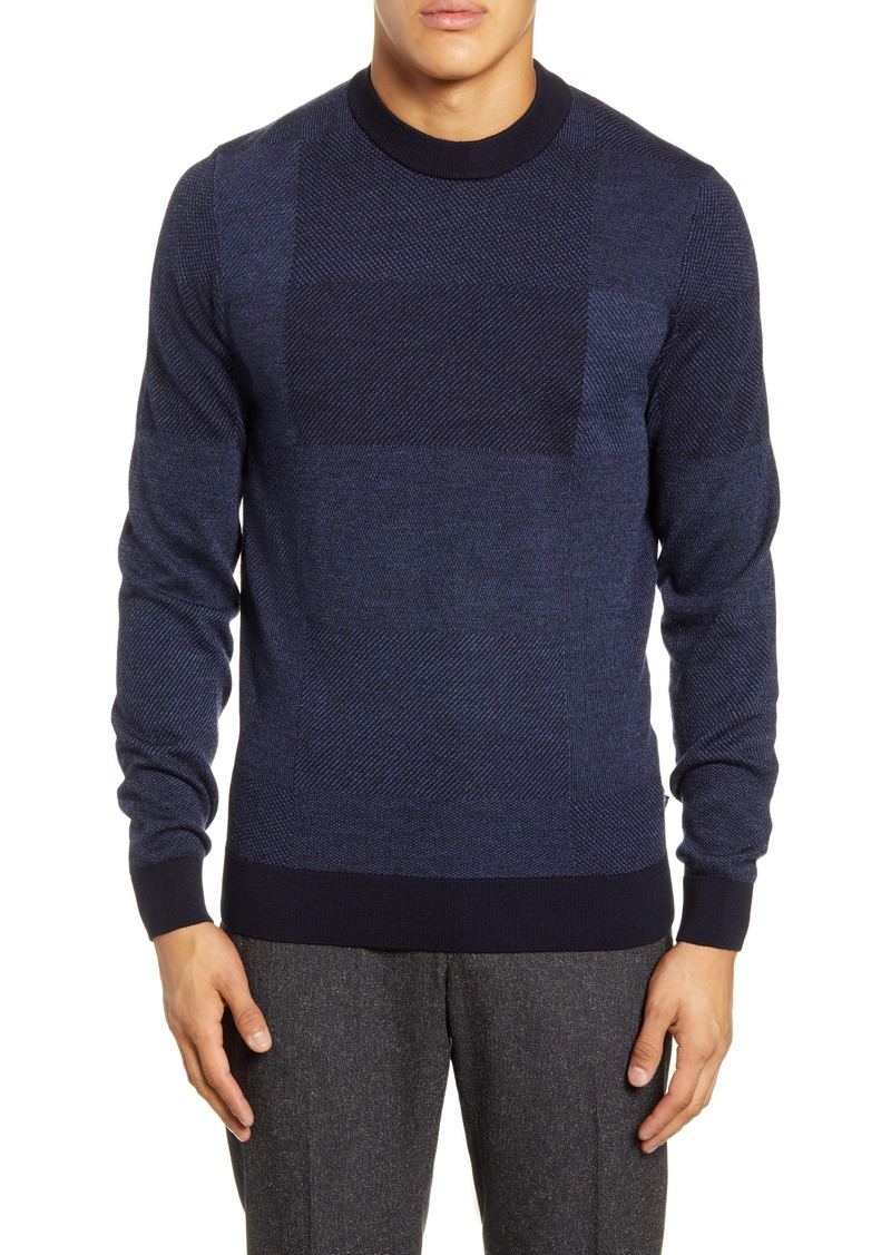Hugo Boss BOSS Bilivio Slim Fit Wool Sweater