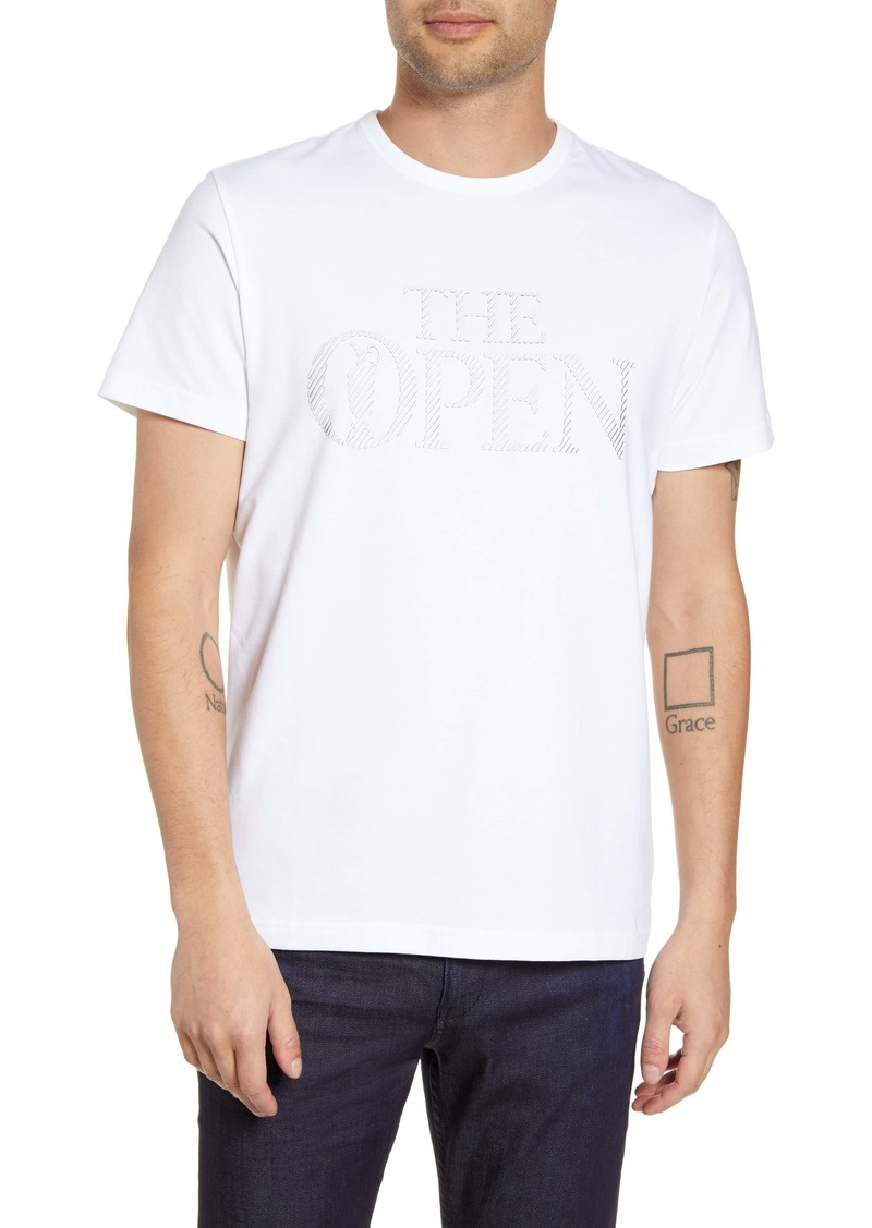 Hugo Boss BOSS British Open Regular Fit Graphic T-Shirt