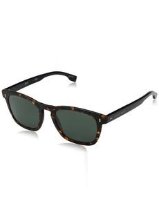 BOSS by Hugo Boss Men's 0926/s Oval Sunglasses MATT HVNA 51 mm