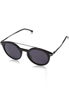 BOSS by Hugo Boss Men's 0929/s Polarized Round Sunglasses  49 mm
