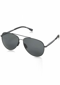 BOSS by Hugo Boss Men's 0938/s Polarized Aviator Sunglasses  62 mm