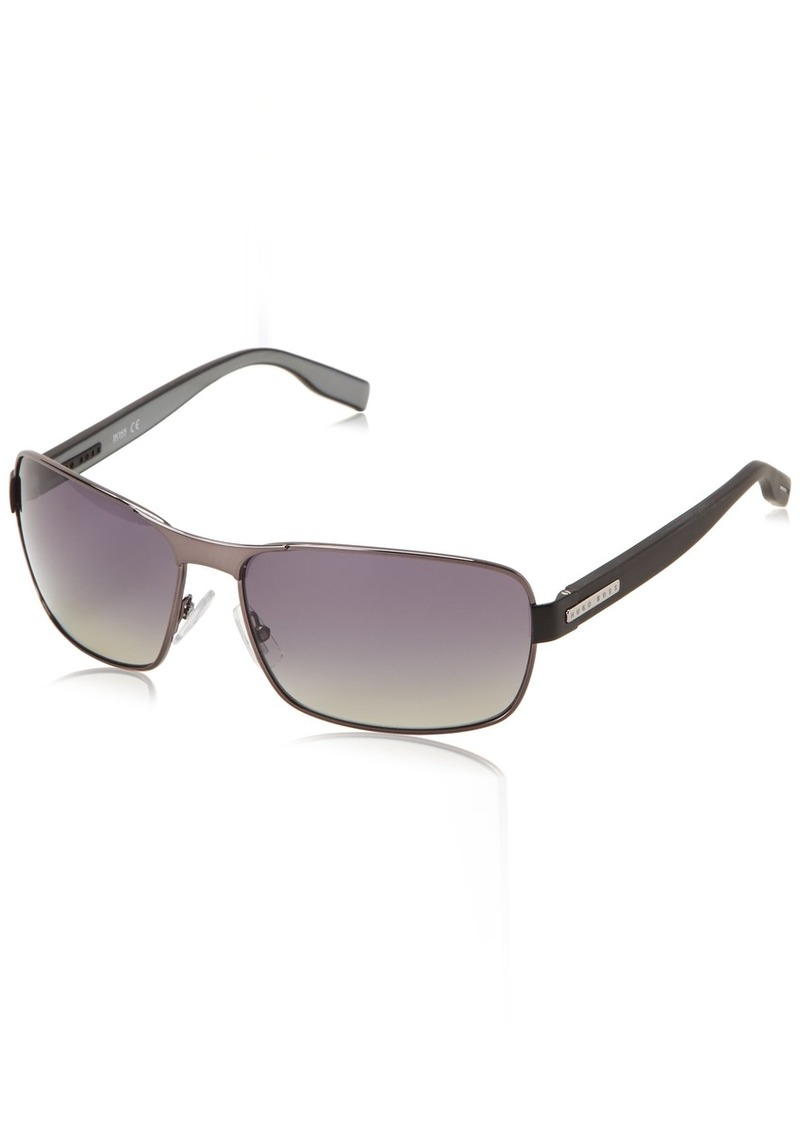 10da71b398 Hugo Boss Boss By Hugo Boss Men s B0579PS Rectangular Polarized ...