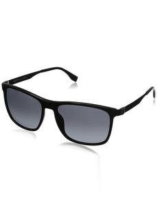 BOSS by Hugo Boss Men's B0671S Rectangular Sunglasses