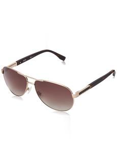BOSS by Hugo Boss Men's B0705PS Aviator Sunglasses