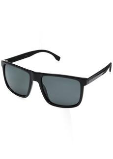 BOSS by Hugo Boss Men's B0879s Rectangular Sunglasses