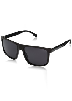 BOSS by Hugo Boss Men's B0879s Rectangular Sunglasses