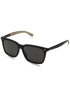 BOSS by Hugo Boss Men's B0883s Square Sunglasses  56 mm