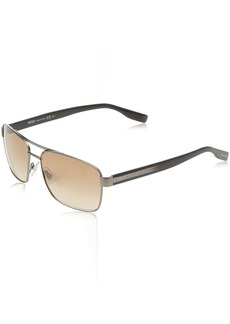 BOSS by Hugo Boss Men's Boss 0592/s Rectangular Sunglasses