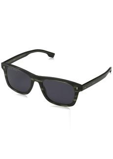 abed30963d6 BOSS by Hugo Boss Men s Boss 0925 s Polarized Rectangular Sunglasses  KHAKIHORN 52 mm