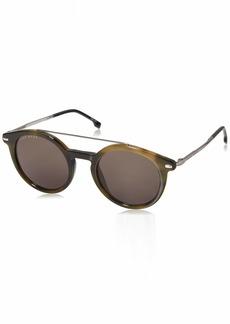 BOSS by Hugo Boss Men's Boss 0929/s Polarized Round Sunglasses