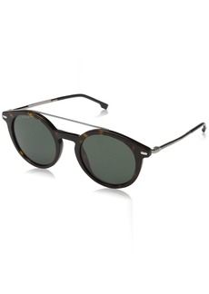 BOSS by Hugo Boss Men's Boss 0929/s Round Sunglasses DKHAVANA 49 mm