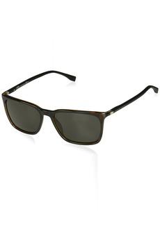 BOSS by Hugo Boss Men's Boss 0959/s Rectangular Sunglasses  56 mm