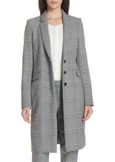 Hugo Boss BOSS Canati Long Plaid Jacket