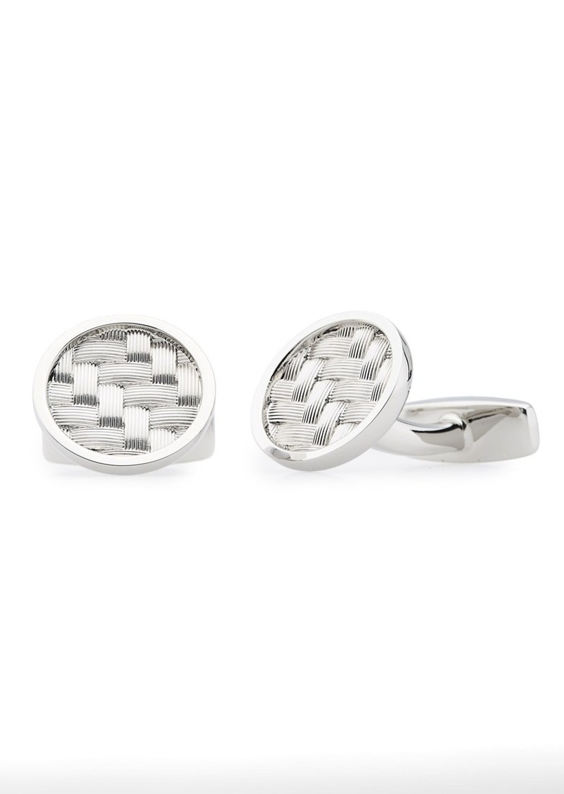 Hugo Boss BOSS 'Carlos' Round Cuff Links