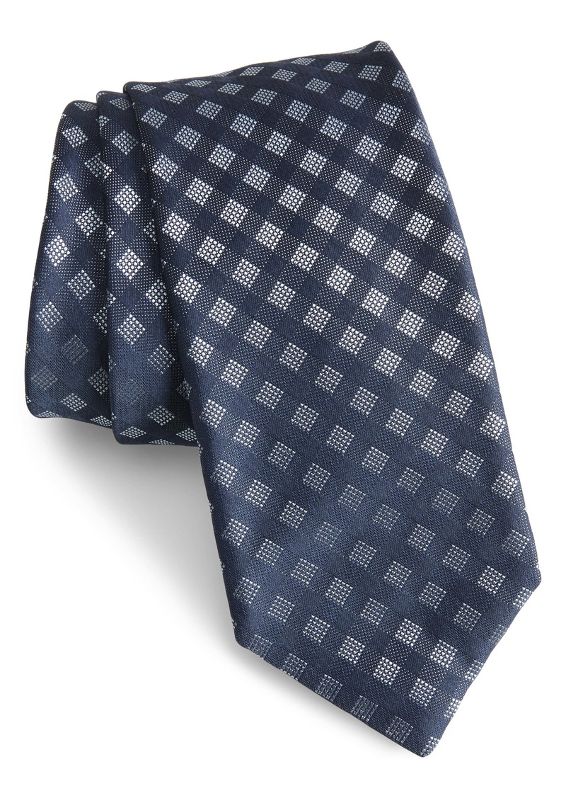Hugo Boss BOSS Check Silk Blend Tie