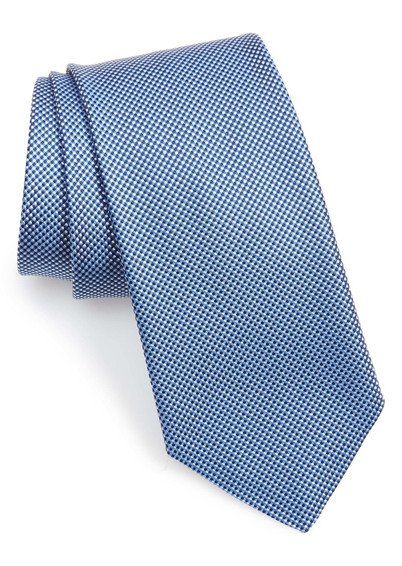 Hugo Boss BOSS Check Silk Tie