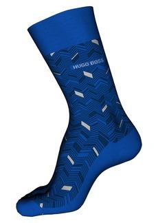 Hugo Boss BOSS Chevron Pattern Socks