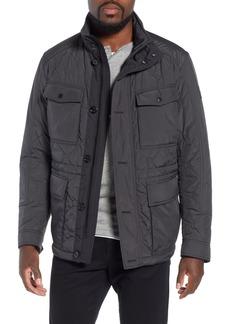 Hugo Boss BOSS Cloud Quilted Field Jacket with Stowaway Hood