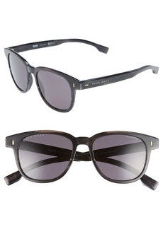 Hugo Boss BOSS Core 51mm Polarized Sunglasses