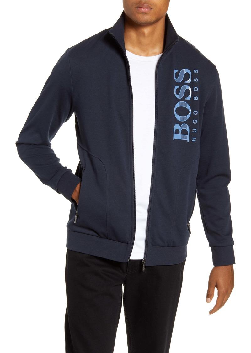 Hugo Boss BOSS Cotton Blend Track Jacket