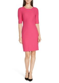 Hugo Boss BOSS Daletana Soft Twill Dress (Regular & Petite)