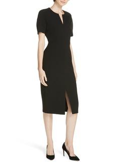 Hugo Boss BOSS Darera Short Sleeve Ponte Sheath Dress (Regular & Petite)