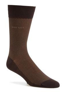Hugo Boss BOSS 'David' Herringbone Socks