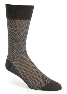 Hugo Boss BOSS Dean Diamond Dress Socks