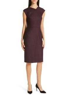Hugo Boss BOSS Dechesta Glen Plaid Sheath Dress (Regular & Petite)