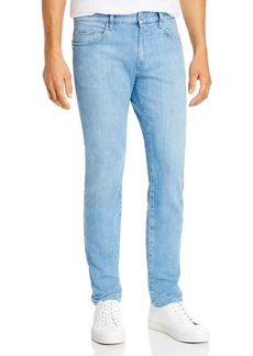 Hugo Boss BOSS Delaware Comfort Slim Fit Jeans in Turquoise