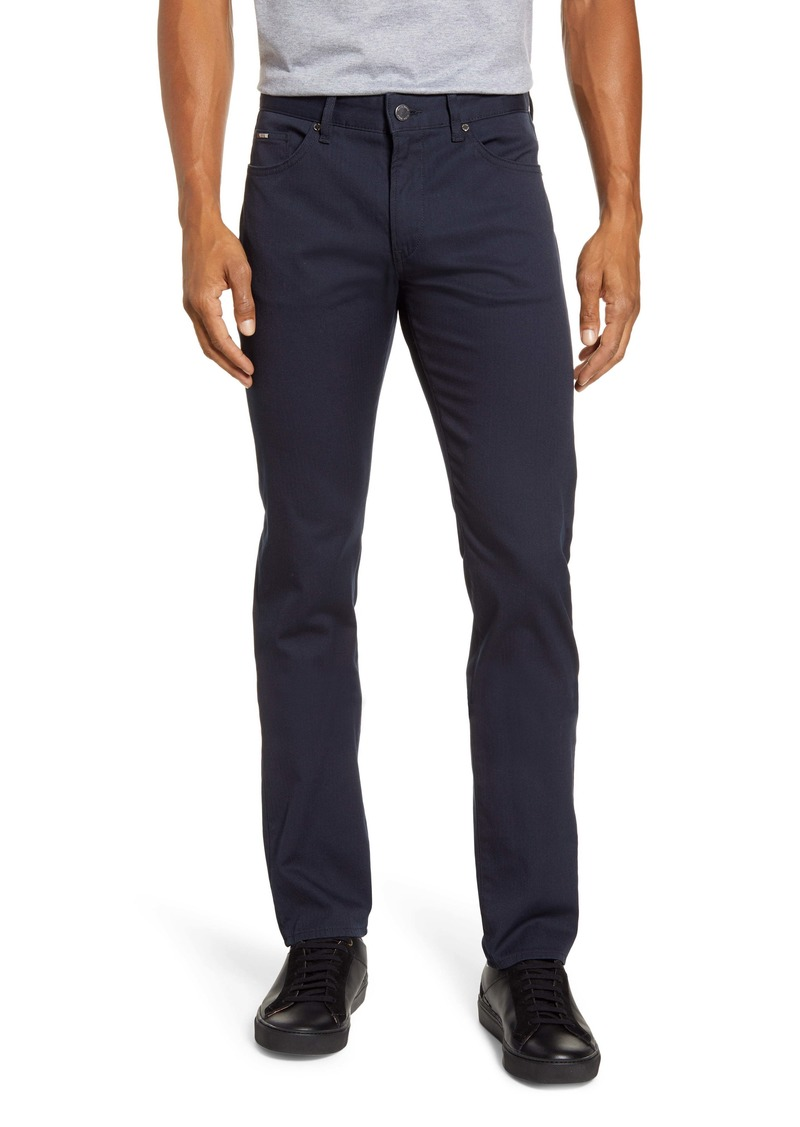Hugo Boss BOSS Delaware Slim Fit Five-Pocket Pants