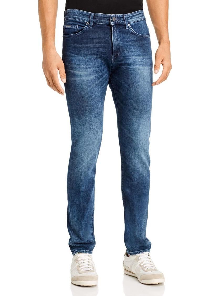 Hugo Boss BOSS Delaware Slim Fit Jeans in Navy