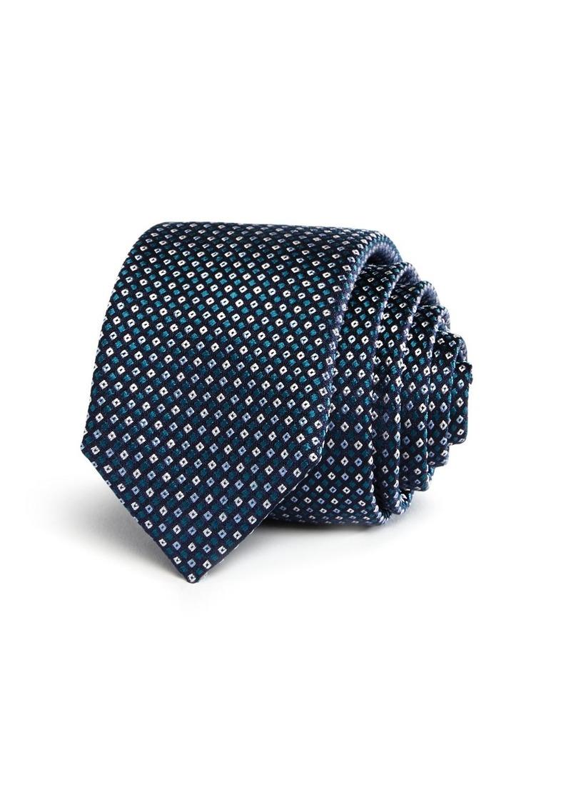 Hugo Boss BOSS Diamond Neat Skinny Tie