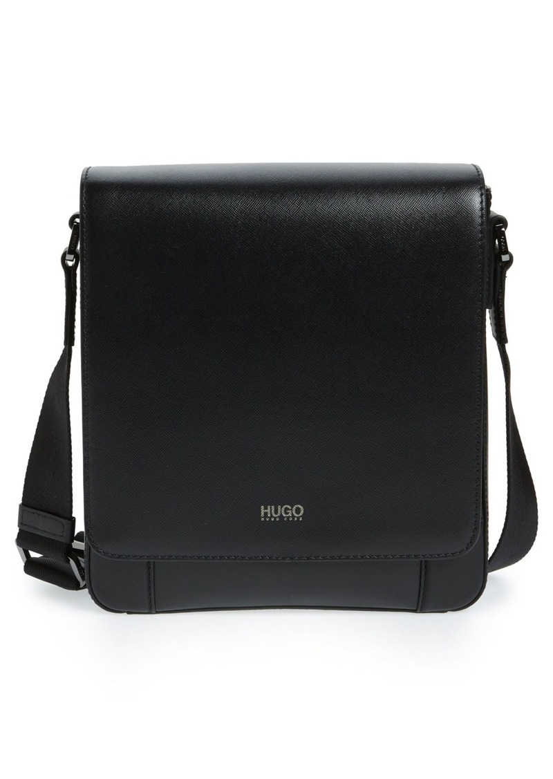 Hugo Boss BOSS 'Digital Reporter' Leather Messenger Bag