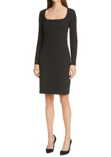 Hugo Boss BOSS Dineka Long Sleeve Sheath Dress (Regular & Petite)