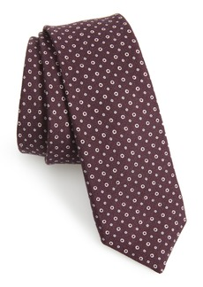 Hugo Boss BOSS Dot Cotton & Silk Tie