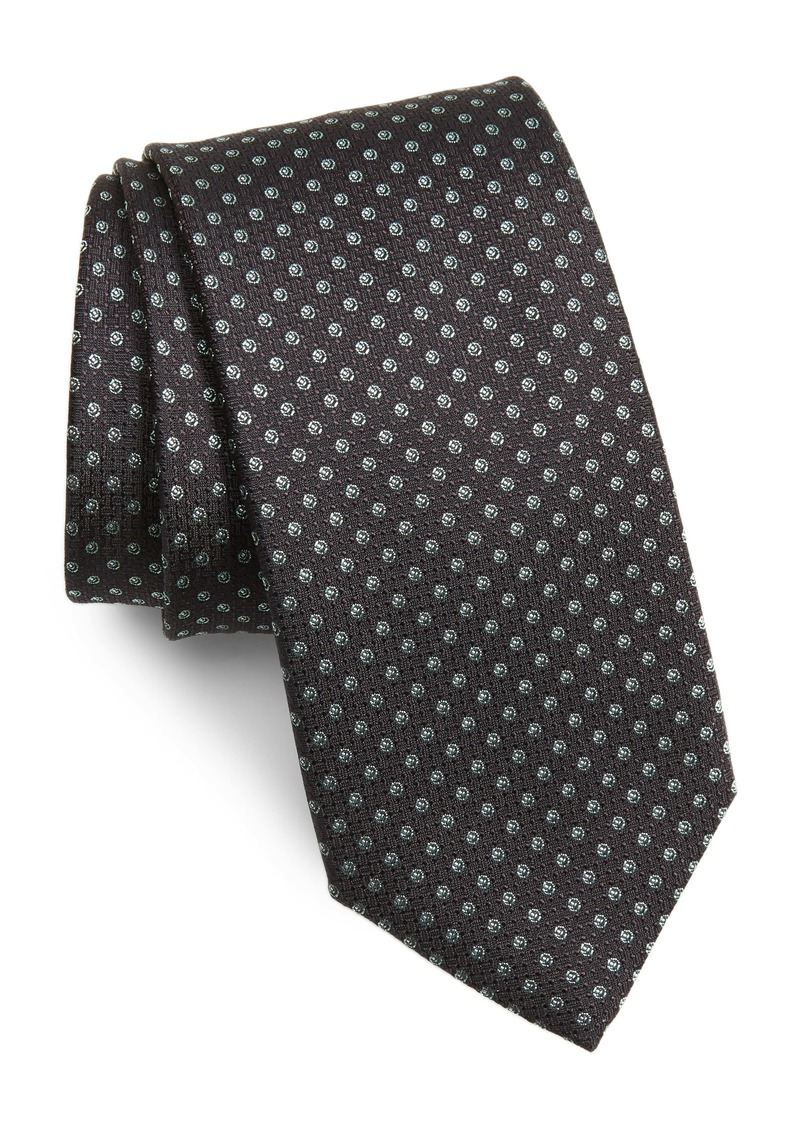 Hugo Boss BOSS Dot Print Silk Tie