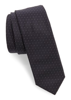 Hugo Boss BOSS Dot Silk Skinny Tie