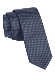 Hugo Boss BOSS Dot Silk Skinny Tie