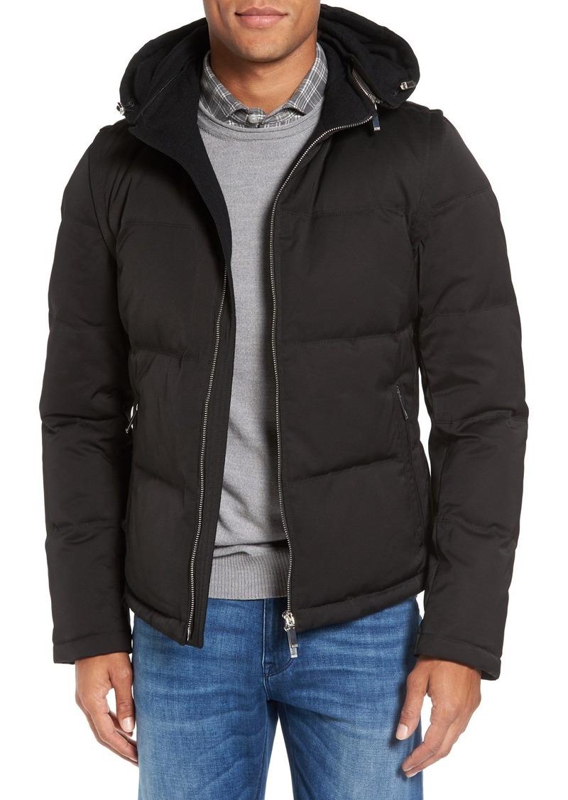 7bd4ca457 Hugo Boss BOSS Drewo Modern Convertible Hooded Down Jacket | Outerwear