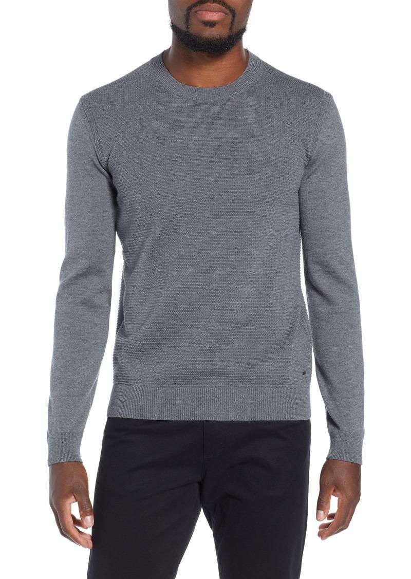 2d06c8f9d Hugo Boss BOSS Ellegri Regular Fit Wool Pullover | Sweaters