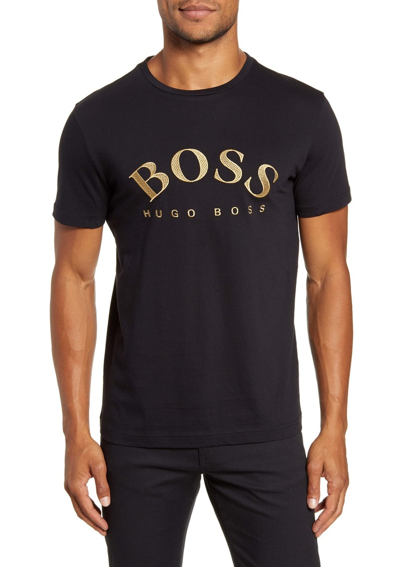 Hugo Boss BOSS Embroidered Logo T-Shirt