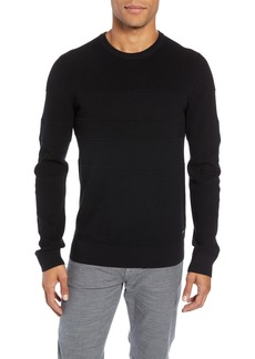Hugo Boss BOSS Esanto Structured Slim Fit Sweater